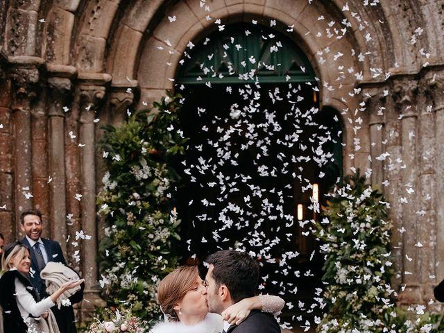La boda de Guille y Sara en Raxó (Poio), Pontevedra 16