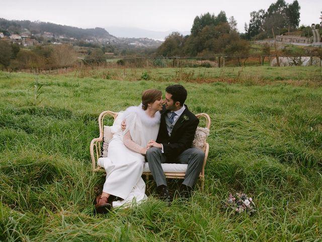 La boda de Guille y Sara en Raxó (Poio), Pontevedra 2