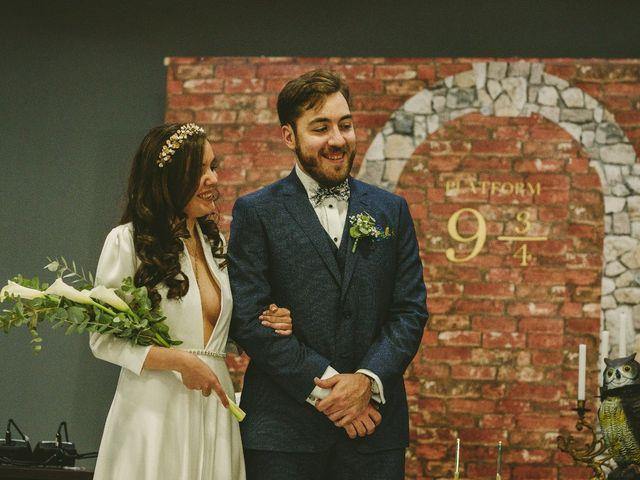 La boda de Enric y Maria en Binefar, Huesca 1