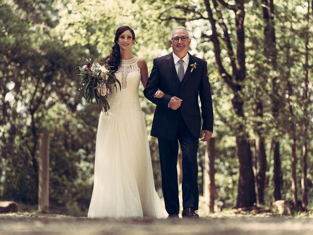 La boda de Rubén y Sara en Muntanyola, Barcelona 1