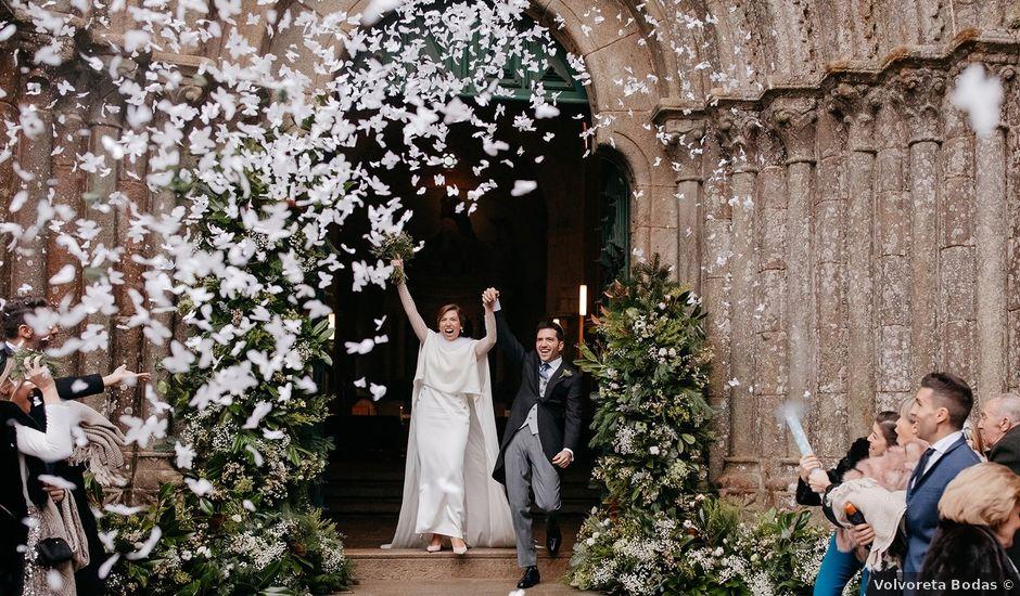 La boda de Guille y Sara en Raxó (Poio), Pontevedra