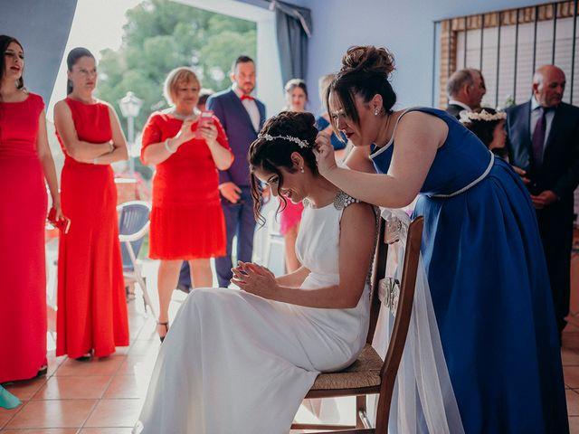 La boda de Juanfe y Maria en Niebla, Huelva 16
