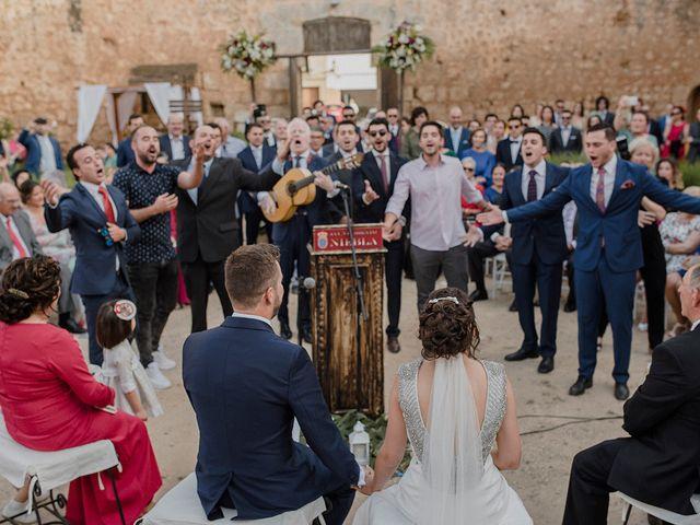 La boda de Juanfe y Maria en Niebla, Huelva 44