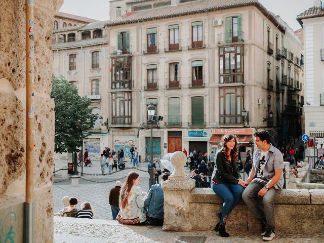 La boda de Jairo y Sandra en Granada, Granada 2