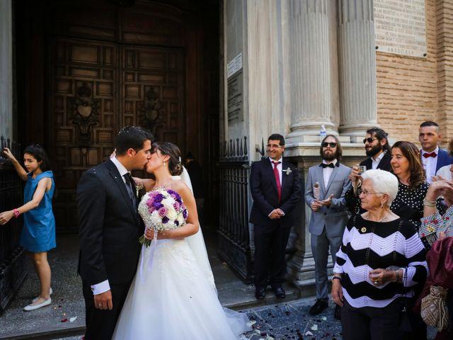 La boda de Jairo y Sandra en Granada, Granada 36