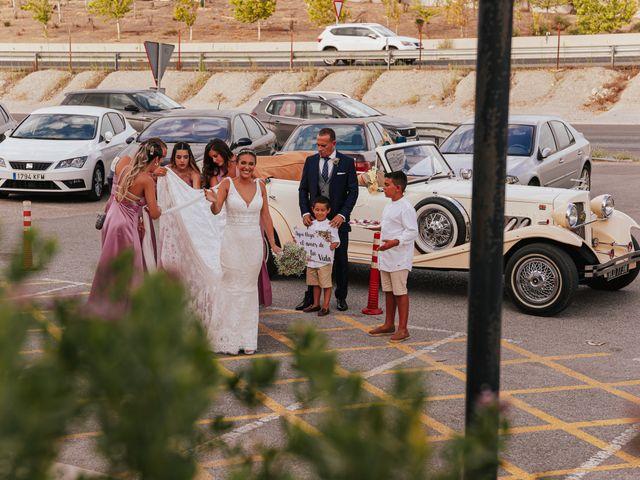 La boda de kevin y Carol en Otura, Granada 27