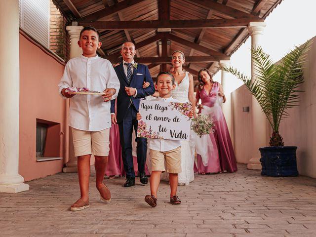 La boda de kevin y Carol en Otura, Granada 29