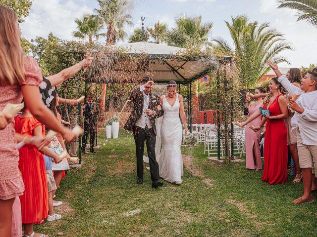 La boda de kevin y Carol en Otura, Granada 45