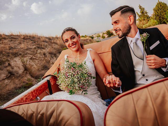La boda de kevin y Carol en Otura, Granada 49