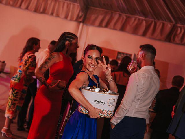 La boda de kevin y Carol en Otura, Granada 81