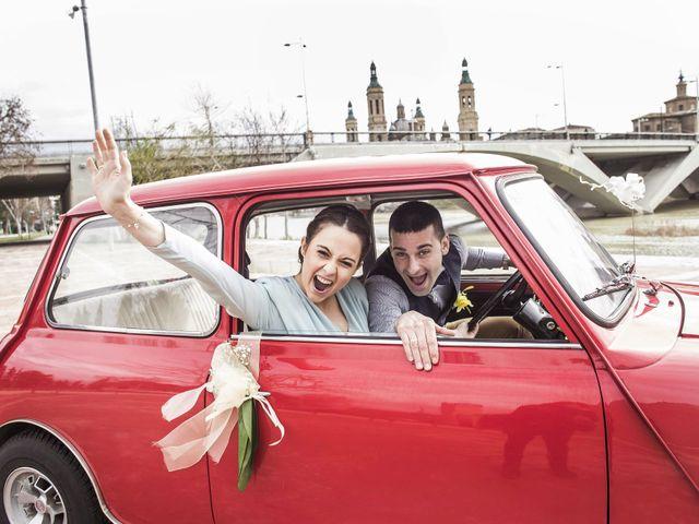 La boda de Ruben y Claudia en Zaragoza, Zaragoza 13