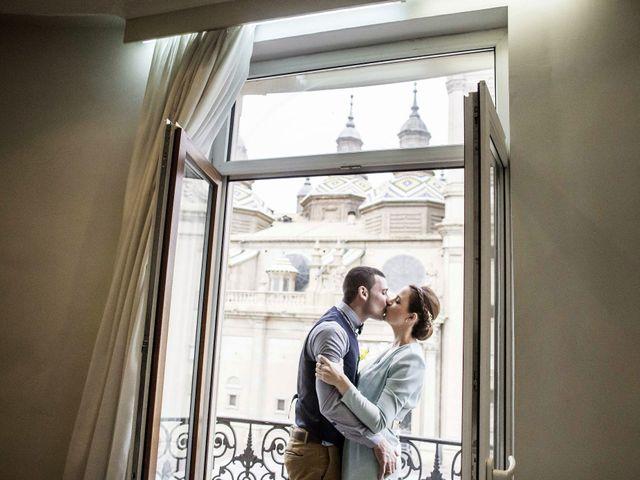 La boda de Ruben y Claudia en Zaragoza, Zaragoza 19