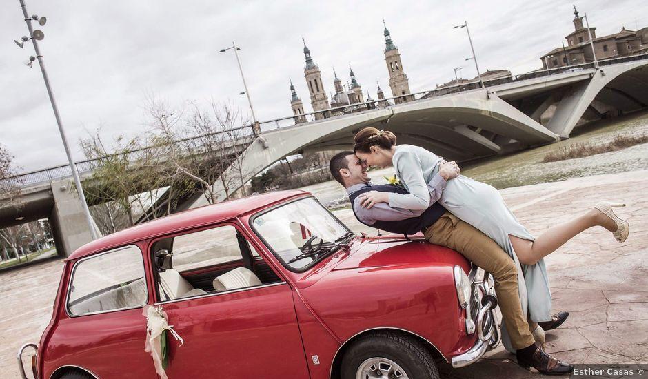 La boda de Ruben y Claudia en Zaragoza, Zaragoza