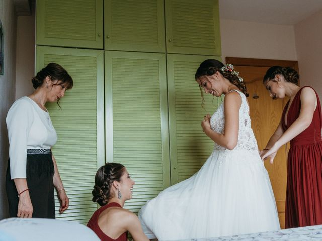 La boda de Albert y Cris en Els Casots, Barcelona 21