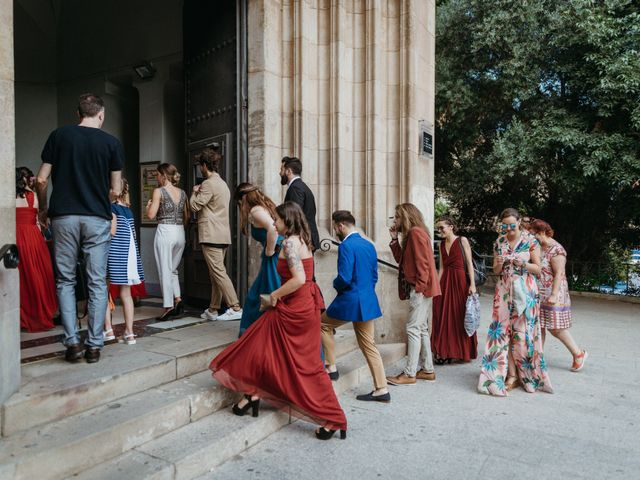 La boda de Albert y Cris en Els Casots, Barcelona 31