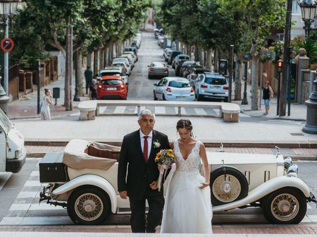 La boda de Albert y Cris en Els Casots, Barcelona 38