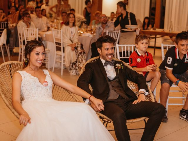 La boda de Albert y Cris en Els Casots, Barcelona 121