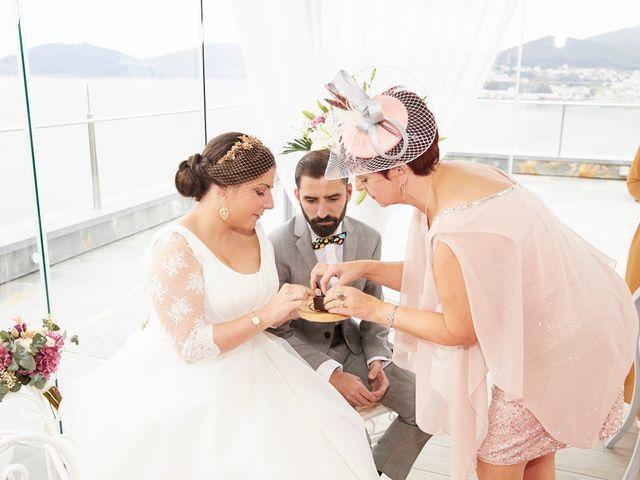 La boda de Janu y Indira en Covas (Viveiro (San Xoan), Lugo 23