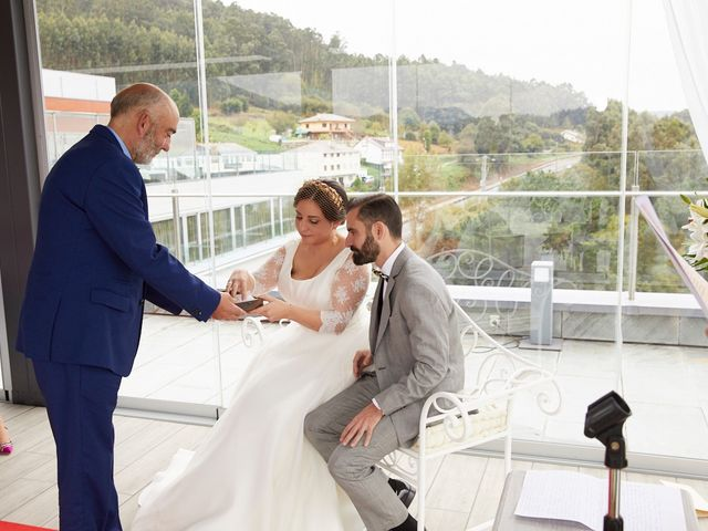 La boda de Janu y Indira en Covas (Viveiro (San Xoan), Lugo 24