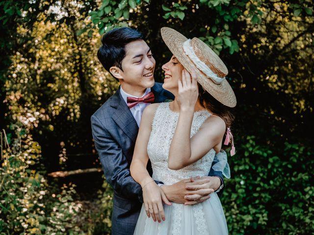 La boda de Elisenda y Santi