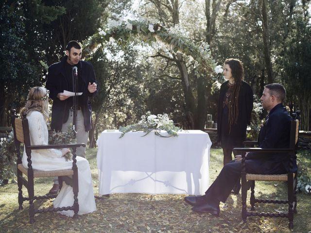 La boda de Albert y Manuela en Sant Marti De Centelles, Barcelona 15