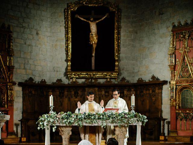 La boda de Eduardo y Patricia en Villamayor De Monjardin, Navarra 1