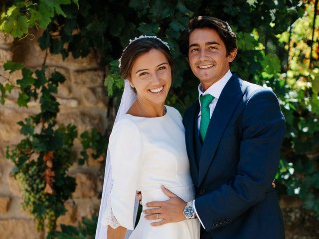 La boda de Eduardo y Patricia en Villamayor De Monjardin, Navarra 14