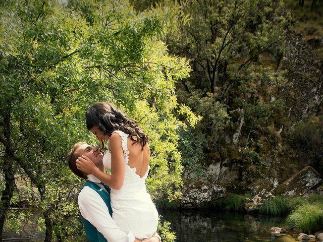 La boda de David y Helena en Cabezuela Del Valle, Cáceres 8
