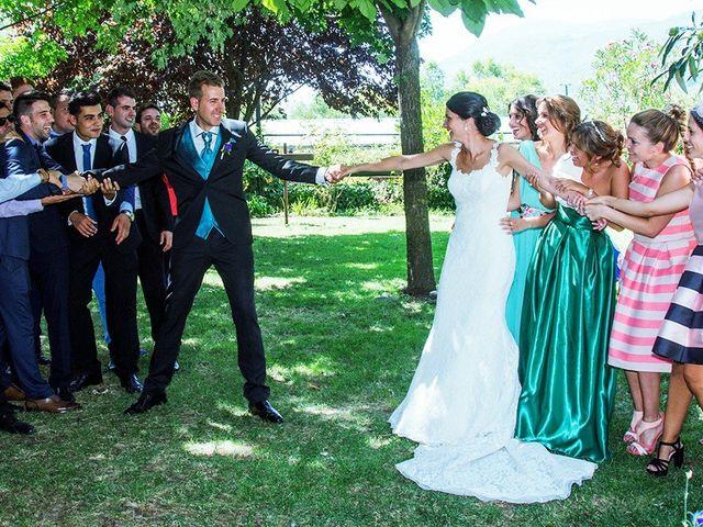 La boda de David y Helena en Cabezuela Del Valle, Cáceres 40
