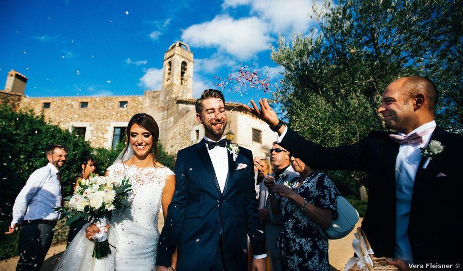 La boda de Zachary y Claudia en La Bisbal d'Empordà, Girona