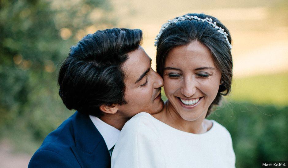 La boda de Eduardo y Patricia en Villamayor De Monjardin, Navarra
