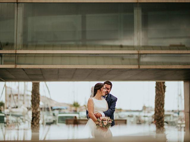 La boda de Juanmi y Marta en Cartagena, Murcia 1