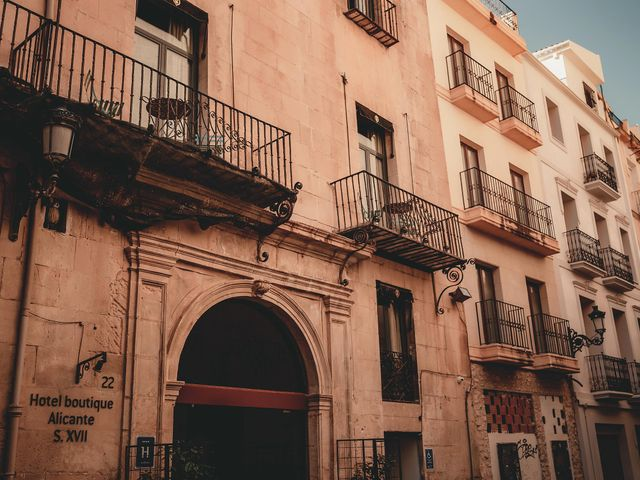 La boda de Jero y Alejandra en Alacant/alicante, Alicante 43