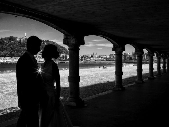 La boda de José Antonio y Leticia en Donostia-San Sebastián, Guipúzcoa 25