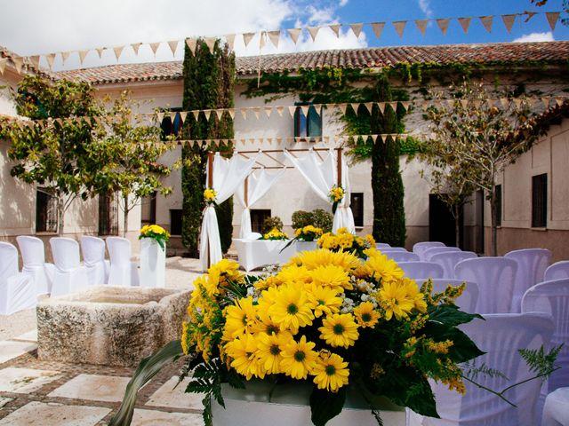 La boda de Helio y Mariajo en Chinchon, Madrid 2