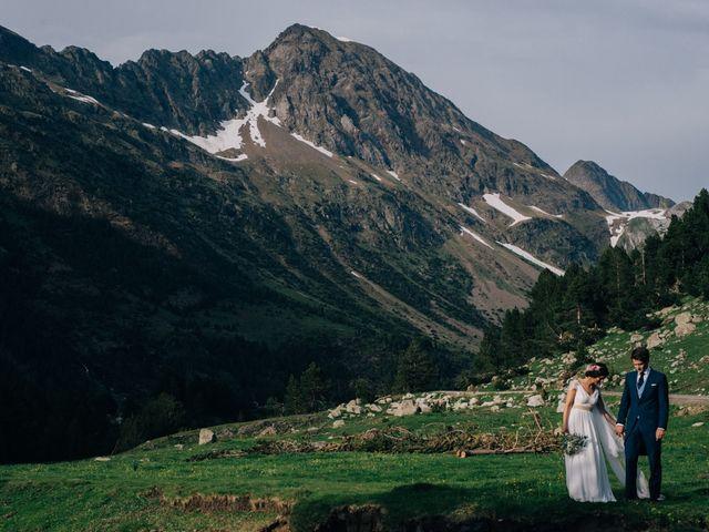 La boda de Juan y Lucía en Benasque, Huesca 71