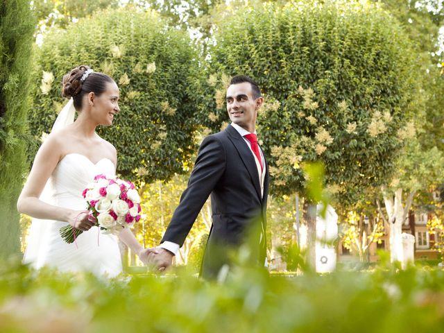 La boda de Andrés y Sara en Madrid, Madrid 1