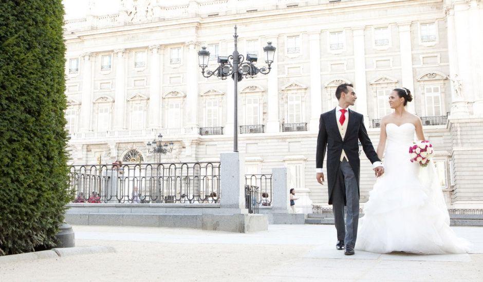 La boda de Andrés y Sara en Madrid, Madrid
