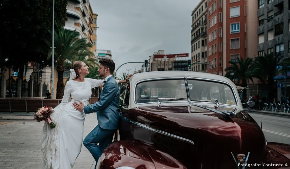 La boda de Jordi y Alba en Alacant/alicante, Alicante