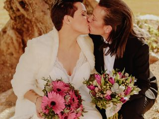 La boda de Alejandra y Pilar