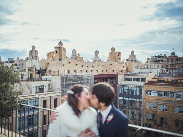 La boda de Adrián y Paula en Barcelona, Barcelona 24
