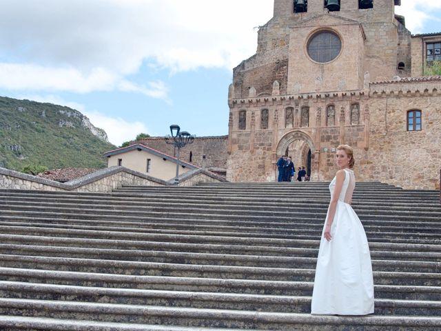 La boda de Marcos y Sheila en Oña, Burgos 4