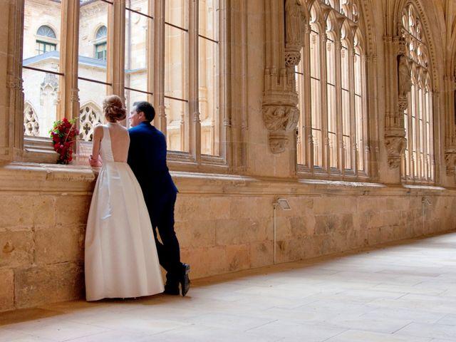 La boda de Marcos y Sheila en Oña, Burgos 20