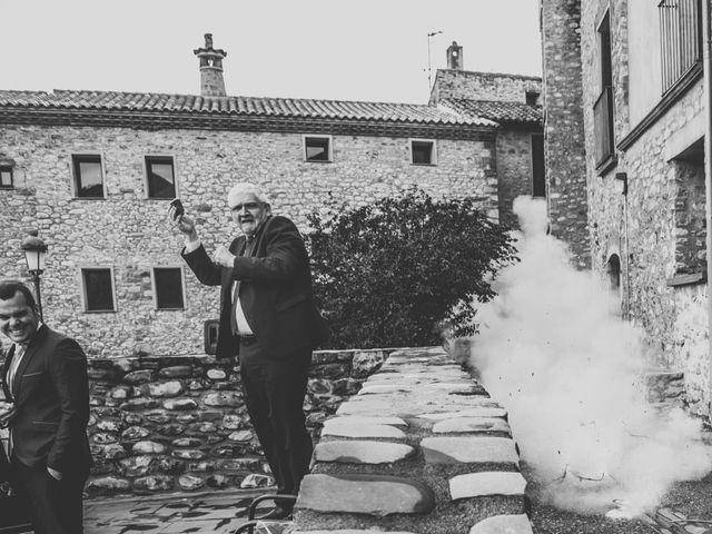 La boda de Andrés y Cecilia en Ligüerre De Cinca, Huesca 25