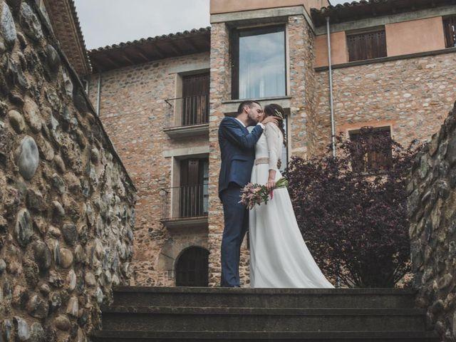 La boda de Andrés y Cecilia en Ligüerre De Cinca, Huesca 35