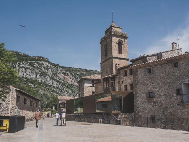 La boda de Andrés y Cecilia en Ligüerre De Cinca, Huesca 1
