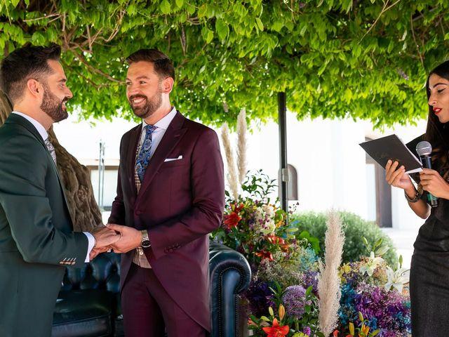 La boda de Jesús Alberto y Alejandro en Granada, Granada 37