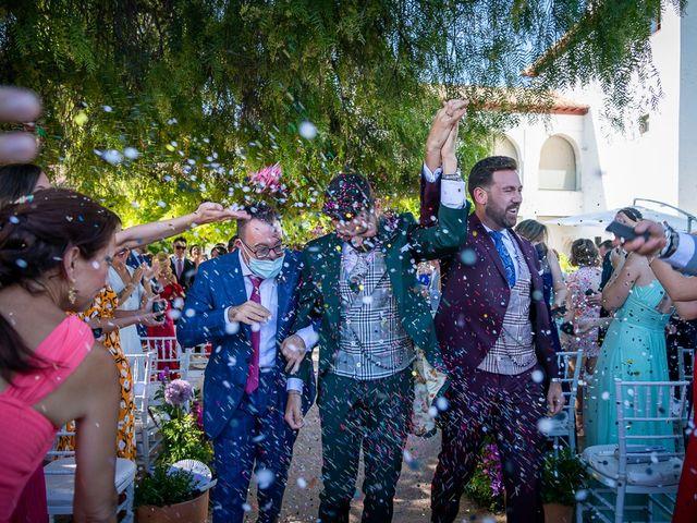 La boda de Jesús Alberto y Alejandro en Granada, Granada 45