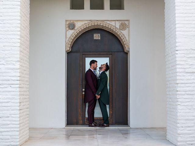 La boda de Jesús Alberto y Alejandro en Granada, Granada 59