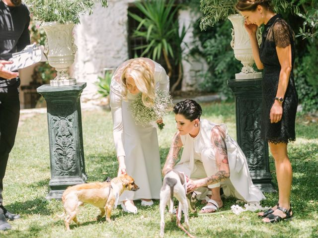 La boda de Alina y Grace en Macastre, Valencia 34